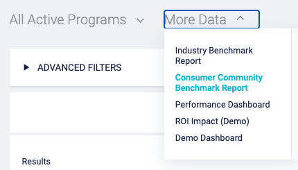 Benchmark Reporting More Data